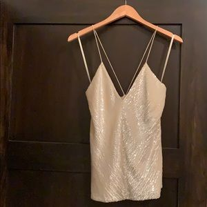 DKNY sequin camisole NWT